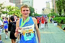 S trochou nadsázky se dá tvrdit, že světový rekordman a olympijský vítěz Haile Gebrsellasie si zazávodil s jihočeským atletem.