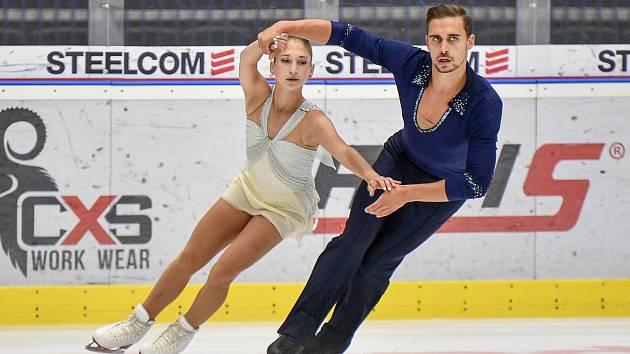 Martin Bidař a Elizaveta Zhuk