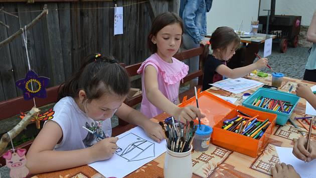 Na Den dětí čekal malé návštěvníky Jihočeského zemědělského muzea v Netěchovicích hudební program nebo dětské dílničky.