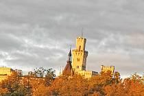 I na podzim je Hluboká nad Vltavou nádherná.