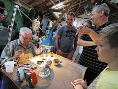 Komařice o víkendu patřily řemeslníkům.