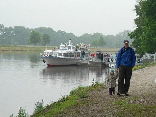 Den otevřených dveří v přístavišti v Českých Budějovicích.