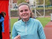 Mistrovství České republiky na 10 000 metrů na dráze v Českých Budějovicích. Lenka Pardamcová skončila třetí mezi juniorkami.
