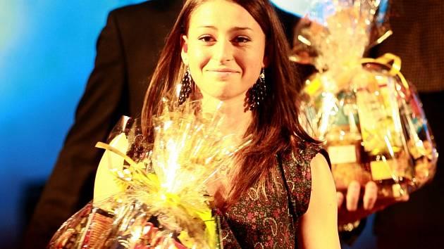 Anna Švecová se díky letošním výborným výkonům zúčastnila tradičního vyhlašování Sportovec roku Jihočeského kraje. Skokanka do dálky, která se letos zúčastnila juniorského světového šampionátu v Barceloně převzala ocenění v kategorii Objev roku.