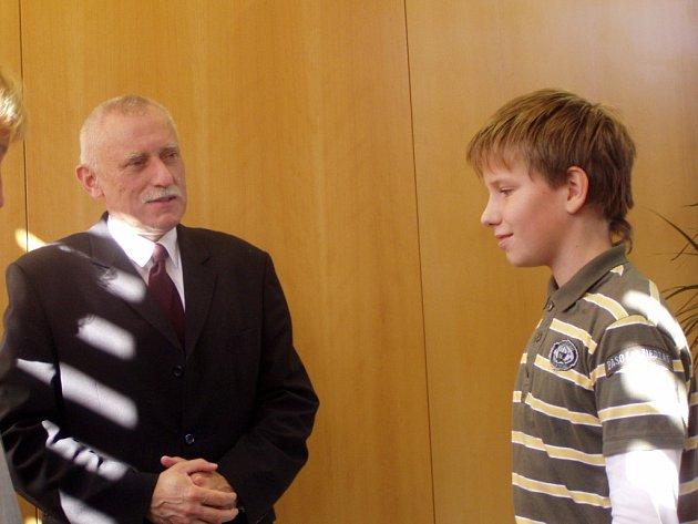 Jan Zahradník a Filip Hulec.