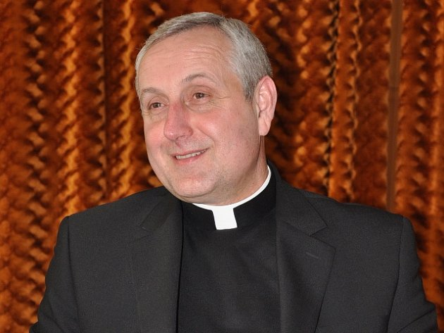 Vlastimil Kročil se stal biskupem českobudějovické diecéze.