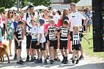 Běh jihočeských nadějí přivedl v neděli na Sokolský ostrov sportovce.
