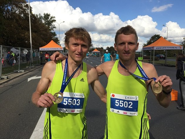 ČLENSTVÍ letos obhájili i bratři Pavel a Martin Frelichové.
