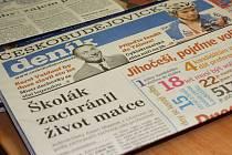 Českobudějovický deník.
