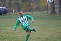 Jindřich Šefčík patřil v utkání s Rudolfovem B (6:1) k nejlepším hráčům Boršova nad vltavou.