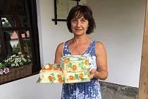 Hrbovcup vyhrála oslavenkyně, dostala sportovní dort.
