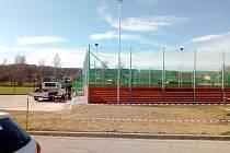Nové víceúčelové hřiště a přilehlé kabiny bude sloužit občanům obce Homole na Českobudějovicku. Vzniklo v části Nové Homole.