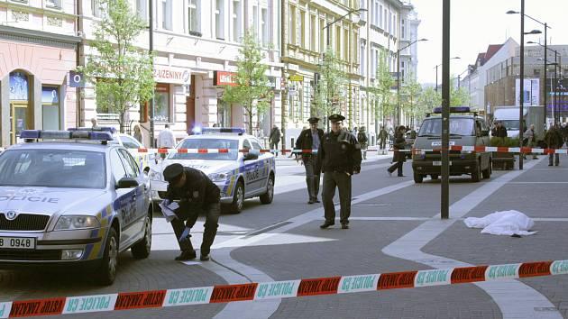 Tragická událost se stala dnes (čtvrtek 19. 4.) krátce před 11 hodinou na Lannově třídě v Českých Budějovicích.