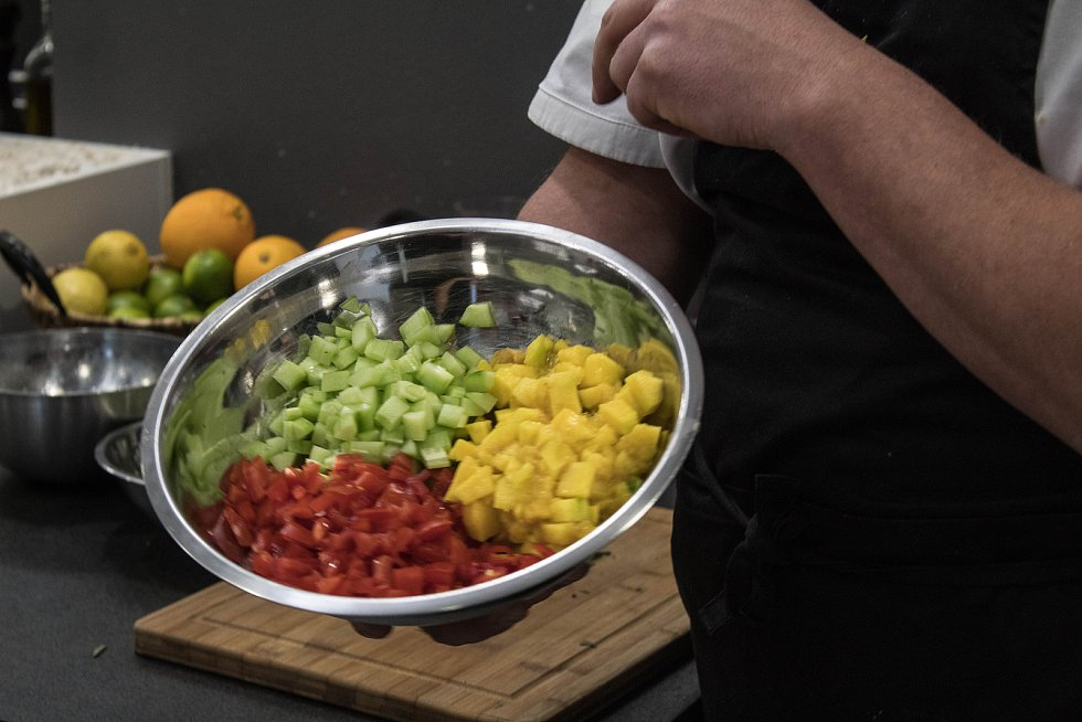 Čtenáři Deníku vařili s Honzou Krobem, majitelem a lektorem Fine Food Academy.