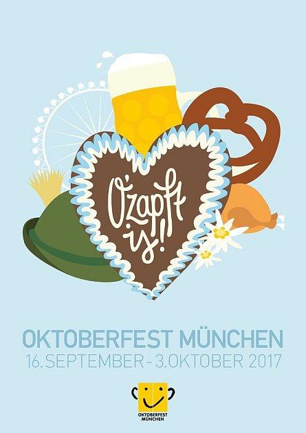 Plakát pro pivní slavnosti 2017.