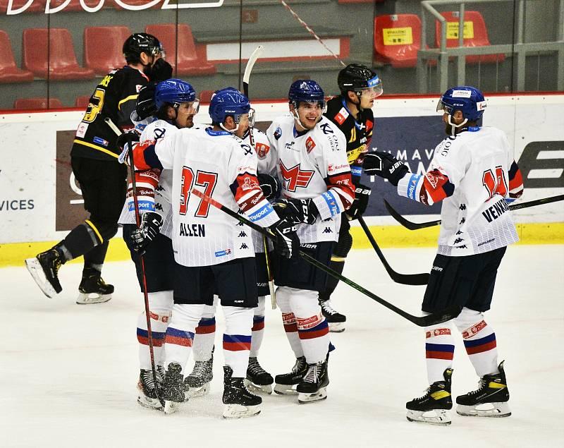 Přípravný hokej: Motor ČB - Litvínov 4:3.