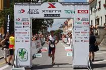 Závod Xterra v Hluboké nad Vltavou je oblíbenou akcí triatlonistů. Loni se zde objevil i mistr světa Conrada Stoltze.