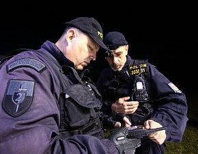 Policisté pátrali cvičně po ztraceném houbaři