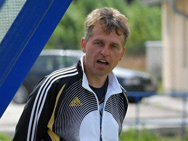 Trenér FC Písek Zdeněk Staroba