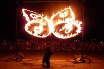 Divadlo Kvelb hrálo nedávno na festivalech v Dánsku a Rusku. Snímek je z představení Motýli.
