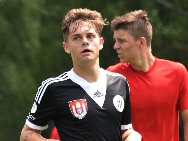 Petr Řehoř v Kamenici nad Lipou v přípravě s Brnem dal svůj první gól za áčko Dynama.