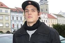 Robin Soudek o svátcích vyměnil Edmonton, kde hraje hokej, za rodné Budějovice a mohl se projít pod Černou věží.