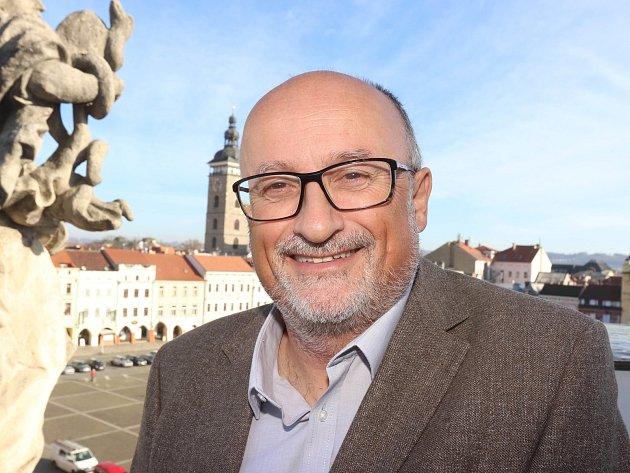 Jiří Svoboda je primátor Českých Budějovic.