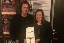 Táborská skupina Kalle získala cenu Anděl za nahrávku Live from the Room. Kapelu tvoří David Zeman a Veronika Buriánková.