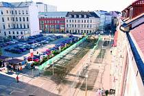 Mezi největší investice Českých Budějovic v příštím roce bude patřit rekonstrukce Lannovy třídy. Má si vyžádat  57,5 milionu korun. Stavební práce byly zahájeny letos v listopadu.
