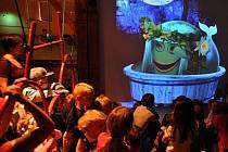 Písecká galerie Sladovna otevřela hravou výstavu Trnkova Zahrada 2. I sem často míří školáci na výlety.