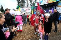Park Rio Lipno byl slavnostně zahájen, pro veřejnost bude otevřen až do konce OH
