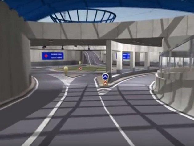 Podobu budoucího tunelu pod kolejemi ukazovala studie, kterou si město nechalo zpracovat.