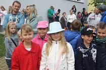 První školní den na základní škole v Lišově.