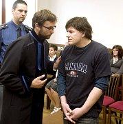 Martin Šeda u soudu.