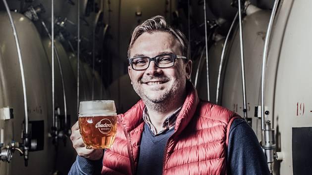 Ředitel Národního pivovaru Budějovický Budvar Petr Dvořák.