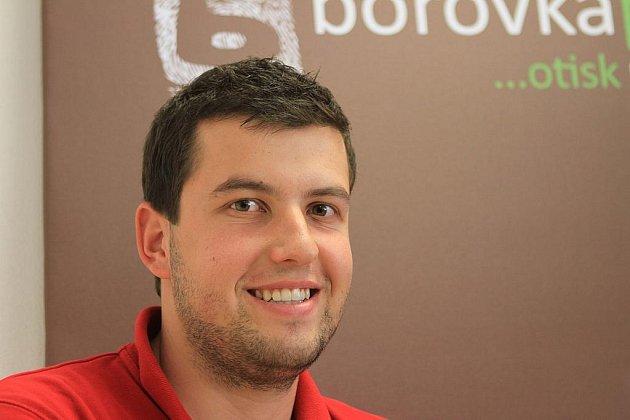 Živnostník roku 2011 David Borovka.