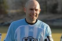 Robert Kochlöfl je v Sezimově Ústí oporou, i v derby s juniorkou Dynama hrál dobře.