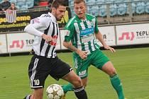 Michal Klesa v zápase s Bohemians Praha svým gólem rozhodl o výhře Dynama.