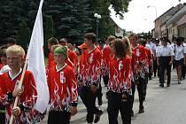 Hasiči v Dolním Bukovsku slavili 130 let od založení sboru.
