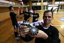 Volejbalisté Jihostroje mají nový talisman