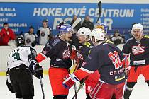 Druhý zápas předkola play off druhé hokejové ligy David servis ČB - Příbram 6:2.