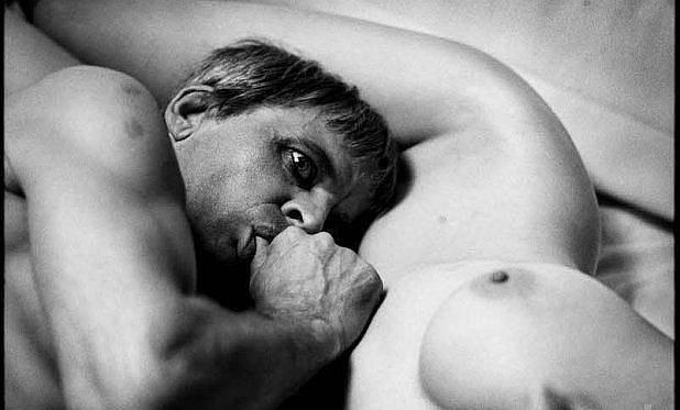 Romy Schneiderová a Klaus Kinski.