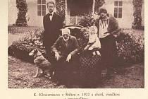 Ve Štěkni roku 1922.