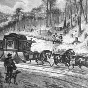 Koně s povozy na kolejích se poprvé rozběhli mezi Českými Budějovicemi a rakouským Kerchbaumem, doprava začala 1. srpna 1832, ve středu tak oslaví koněspřežka 180 let.