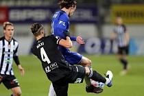 Maksym Talovierov v úterý v Olomouci po faulu na Nešpora byl vyloučen, fotbalisté Dynama ale i v deseti vezli z Hané cenný bod!