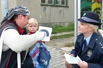 Začátkem září dělala policie preventivní akci zaměřenou na správné přecházení po přechodech.