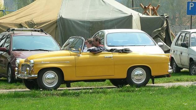 Populární vůz Škoda Felicia.