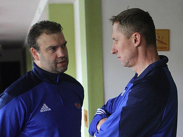 Martin Štrba (vlevo) a Antonín Stavjaňa