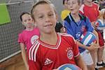 Benjamin Tischler obdržel ocenění jako nejlepší hráč E.ON Junior Cupu