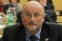 Ustavující zasedání českobudějovického zastupitelstva, pátek 21. listopadu. Na snímku Jiří Svoboda.
